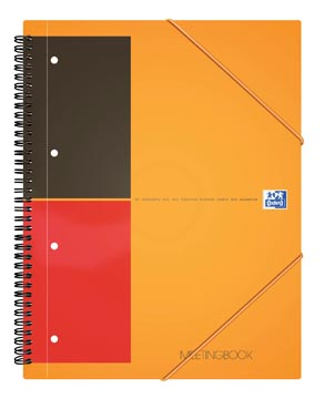 Oxford INTERNATIONAL Meetingbook, 160 bladzijden, ft A4+, geruit 5 mm