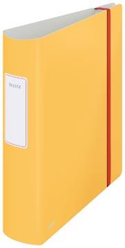Leitz Cosy ordner Active, rug van 8,2 cm, geel