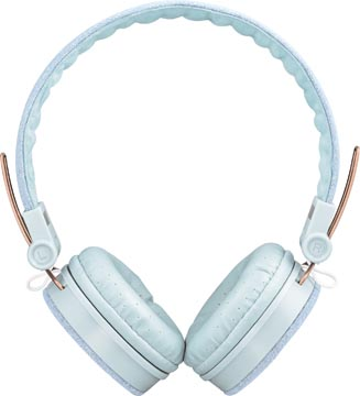 Trust Fyber headset voor smartphones, tablets en laptops, light denim