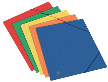 Oxford Top File+ elastomap, voor ft A5, geassorteerde kleuren
