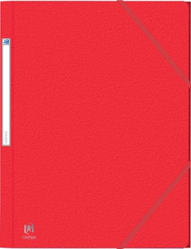 Elba Oxford Eurofolio elastomap, voor ft A4, rood