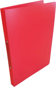 Alpha ringmap, voor ft A4, uit PP, 2 ringen van 16 mm, rood