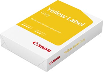 Canon Yellow Label Copy kopieerpapier ft A4, 80 g, pak van 500 vel