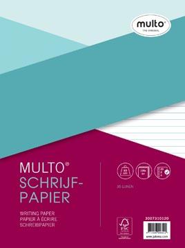 Multo 23-rings schrijfpapier van 100 vel, gelijnd