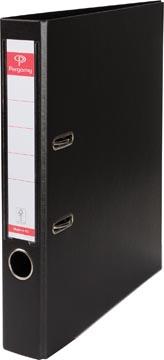 Pergamy ordner, voor ft A4, volledig uit PP, rug van 5 cm, zwart