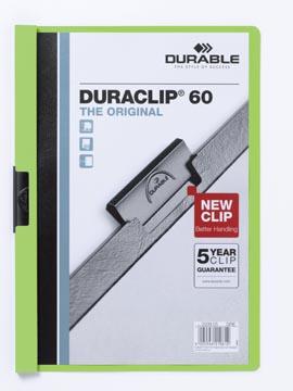 Durable Klemmap Duraclip Original 60 groen