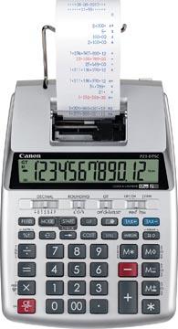 Canon bureaurekenmachine met telrol P23-DTSC II