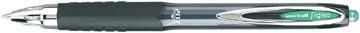 Uni-ball intrekbare roller Signo RT207 groen