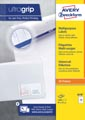Avery Zweckform 3678, Universele etiketten, Ultragrip, wit, 100 vel, 14 per vel, ft 97 x 37 mm